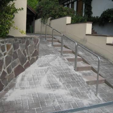 Treppenanlagen Rodungen